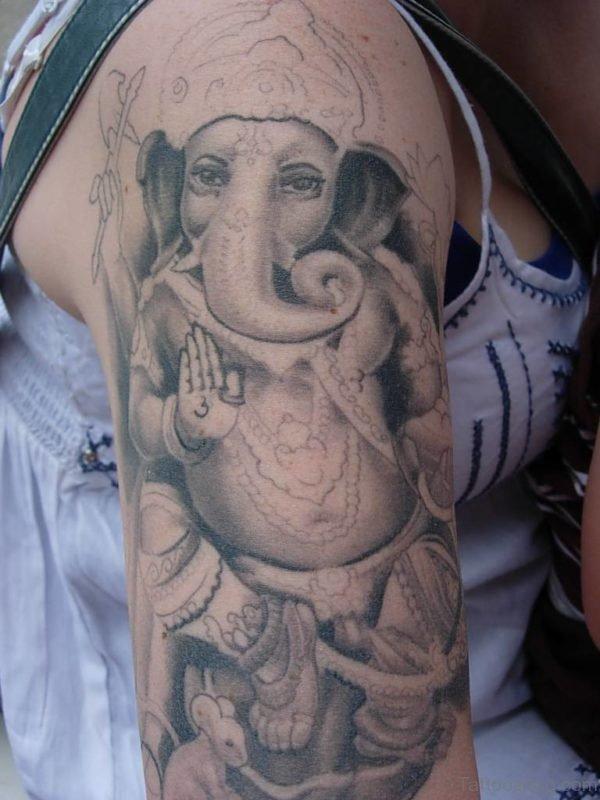 Mind Blowing Ganesha Tattoo