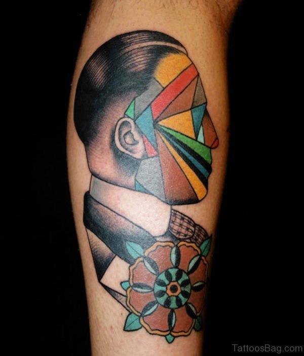 Mind Blowing Portrait Tattoo