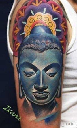 Mind Blwoing Buddha Tattoo