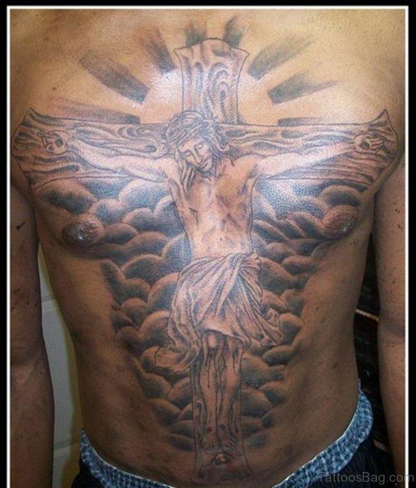 Mind Blwoing Jesus Tattoo