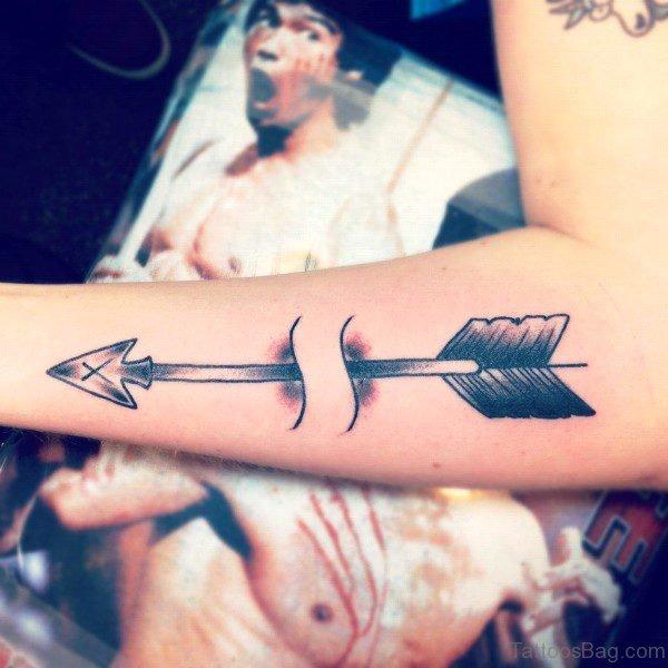 Minimal Arrow Tattoo