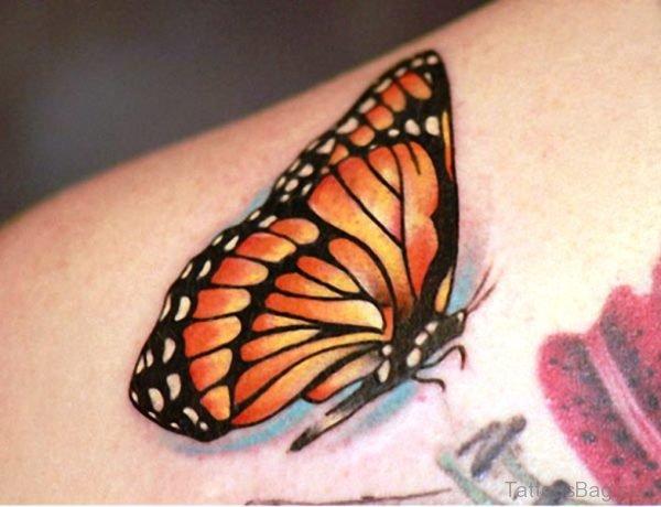 Monarch Butterfly Tattoo