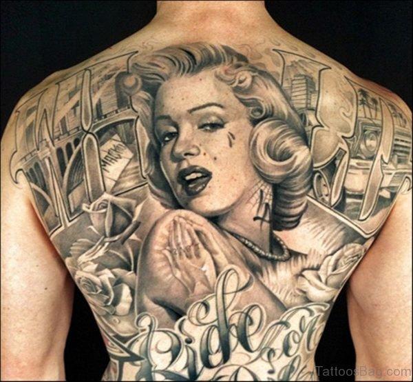 Monroe Backpiece Tattoo