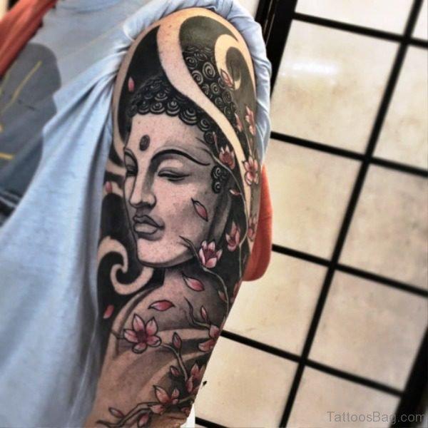 Most Beautiful Buddha Tattoo Design