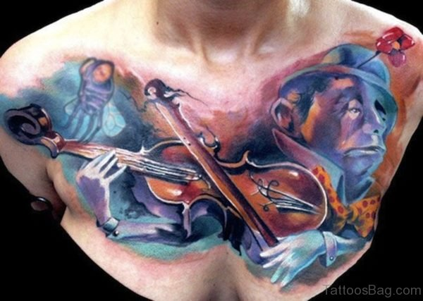 Music Guitar Tattoo