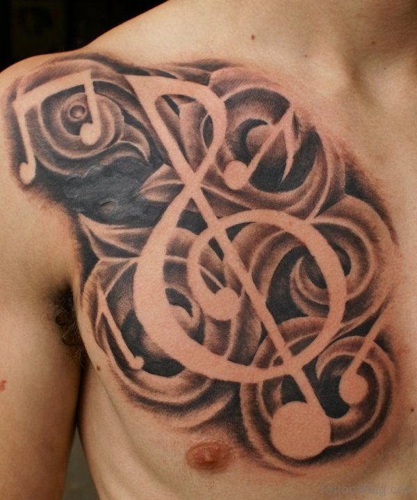 Music Note Symbol Tattoo