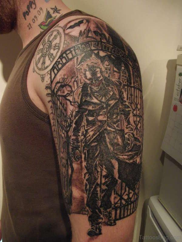 Musical Man Tattoo