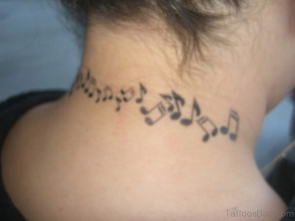 Musical Note On Neck