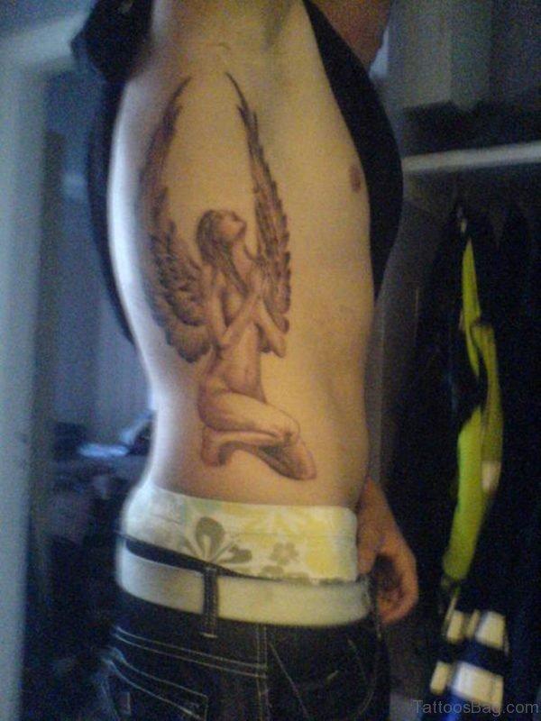 NIce Angel Tattoo Design