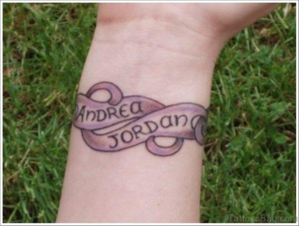 Name Tattoo On Wrist