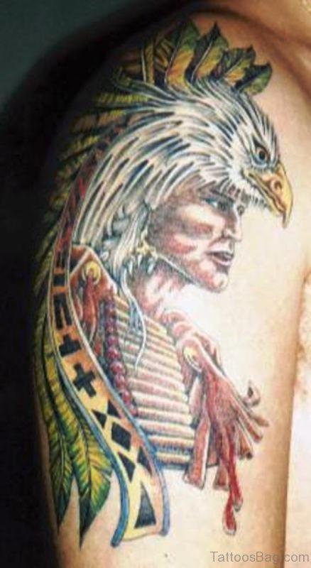 74 Gorgeous Eagle Tattoos On Shoulder