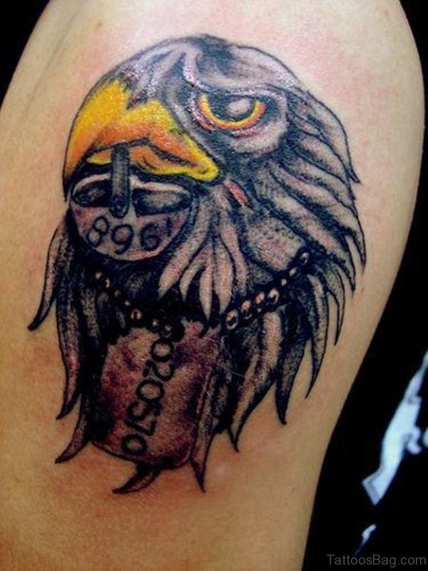 Native American Eagle Tattoo