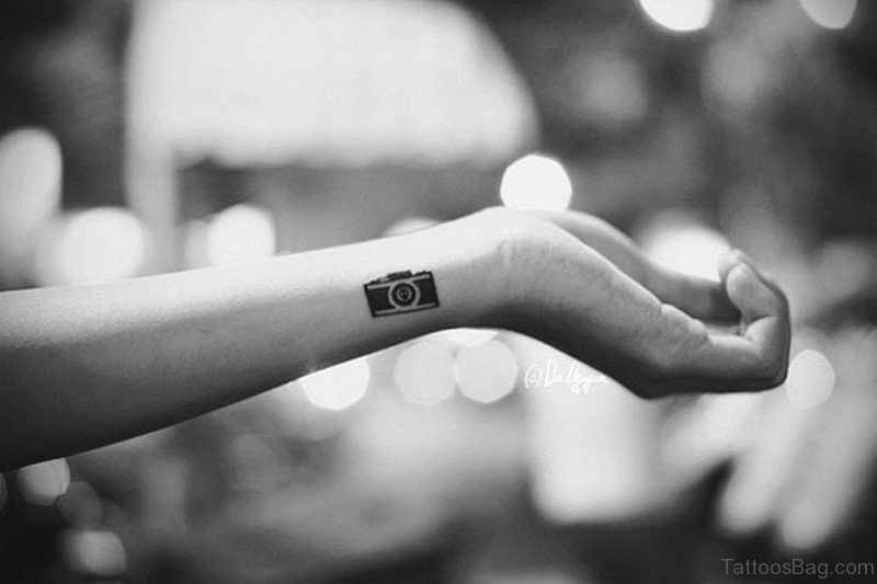 259e4e53d 62 Awesome Camera Tattoos On Wrist