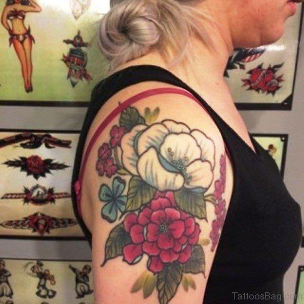 New Design Flowers Tattoo For Women