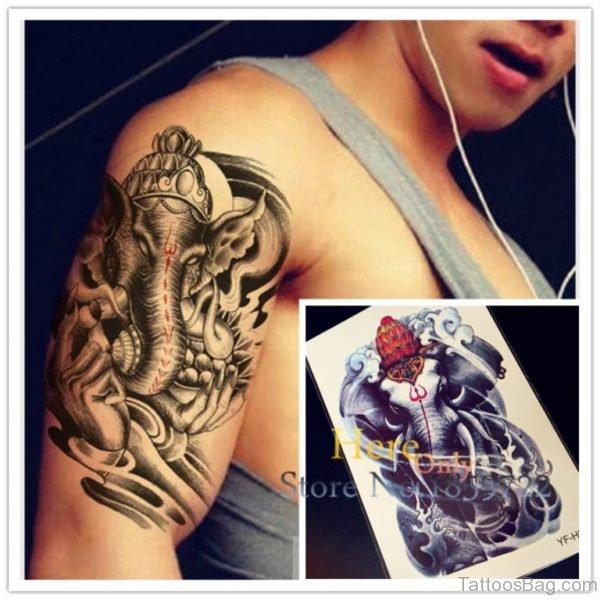 New Style Ganesha Tattoo