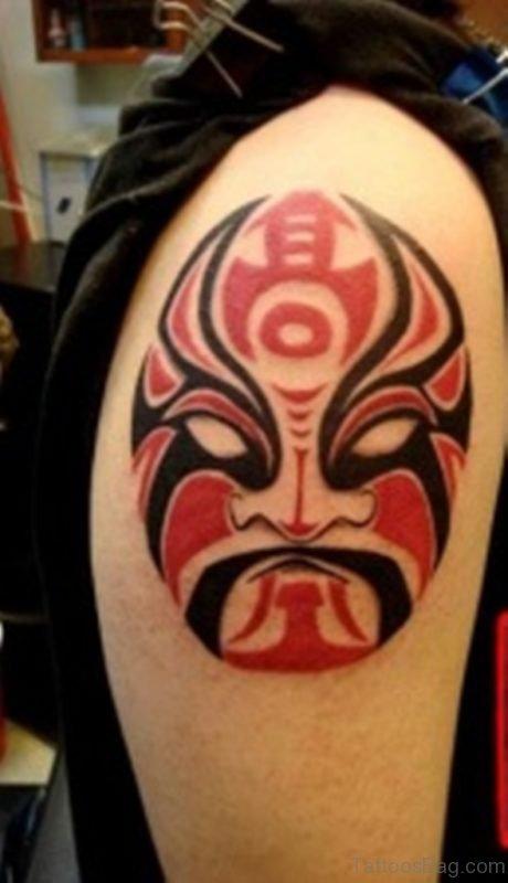 New Style Mask Tattoo