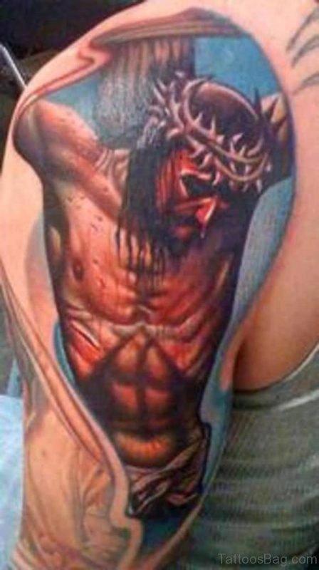 New Styles Jesus Tattoo
