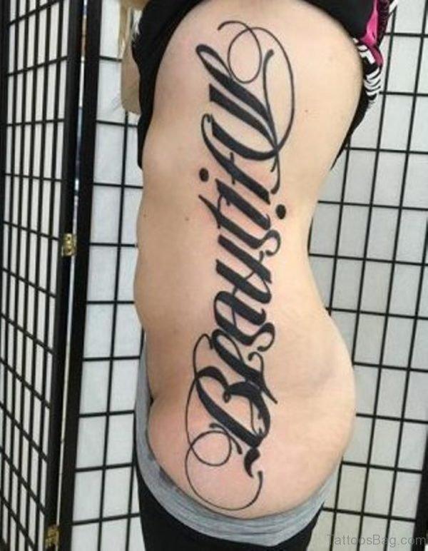 Nice Ambigram Tattoo Design