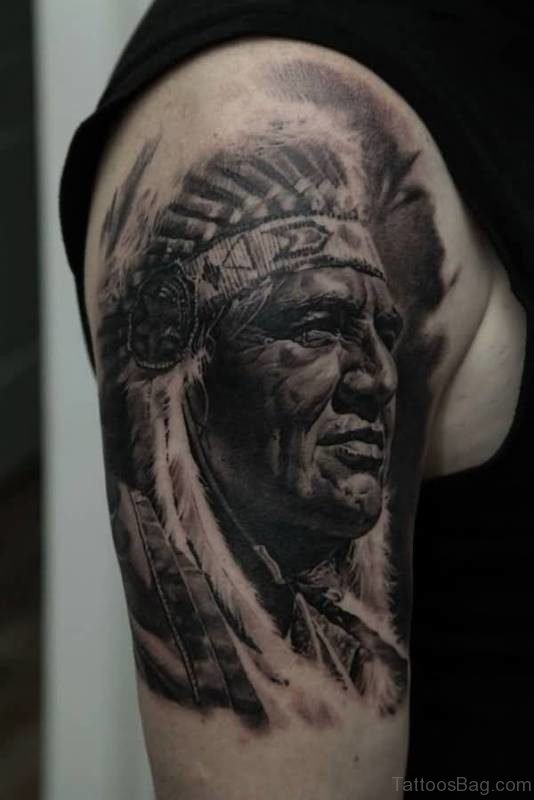 Nice American Man Tattoo