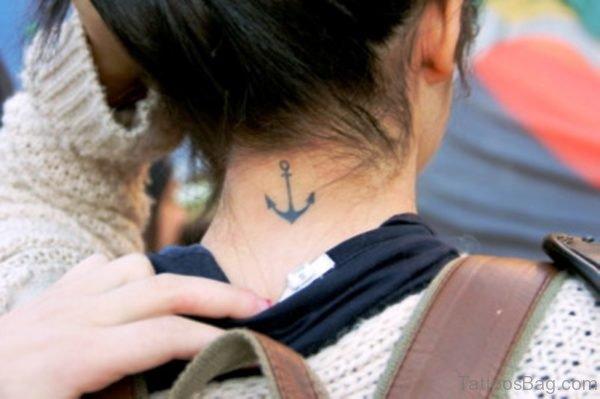 Nice Anchor Tattoo Design