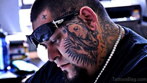 Nice Black And Grey Tattoo Design