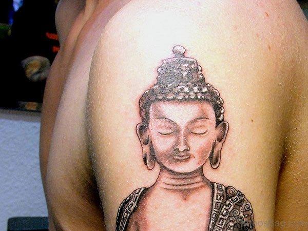 Nice Buddha Tattoo