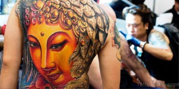 Nice Buddha Tattoo Design 1