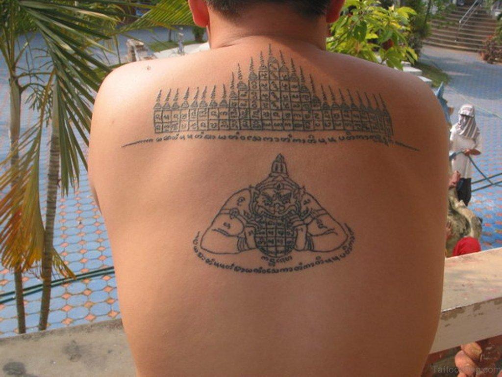 Verwonderend Betekenis Thai Tattoos CJ-13