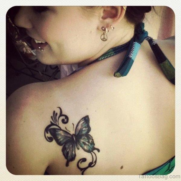 Nice Butterfly Tattoo