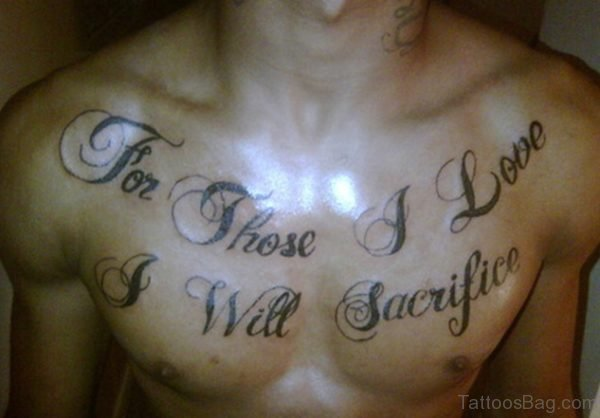 Nice Chest Tattoo