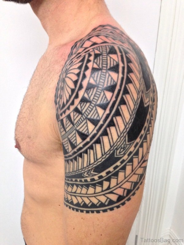 Nice Design Samoan Tattoo