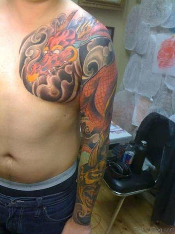 Nice Dragon Tattoo