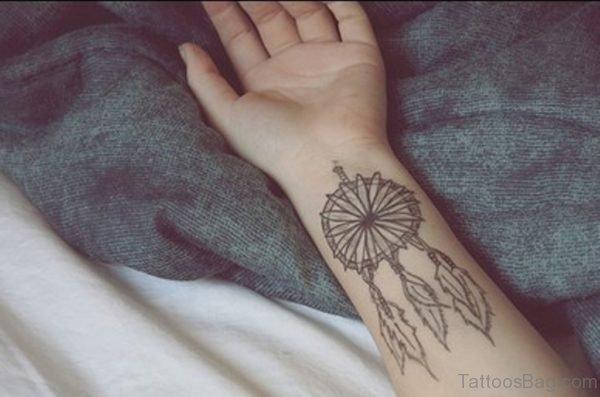Nice Dreamcatcher Tattoo Design