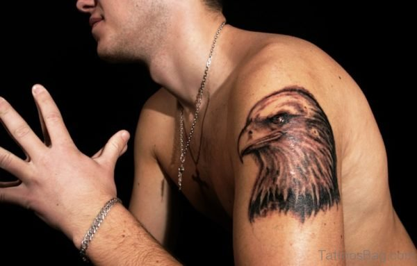 Nice Eagle Tattoo Design