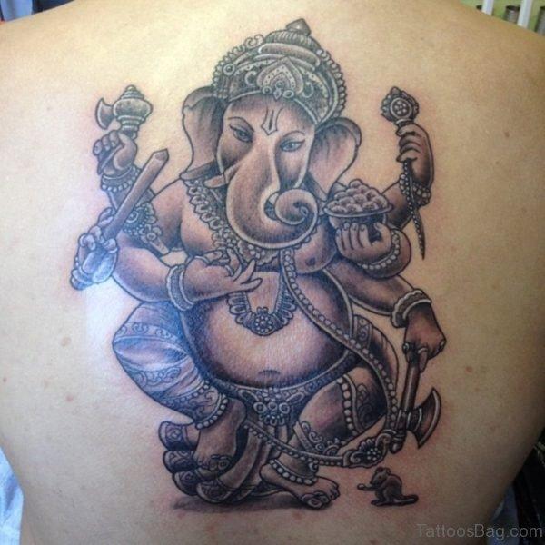 Nice Ganesha Tattoo