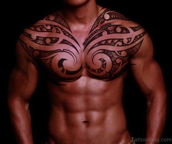Nice Hawaiian Tattoo On Neck