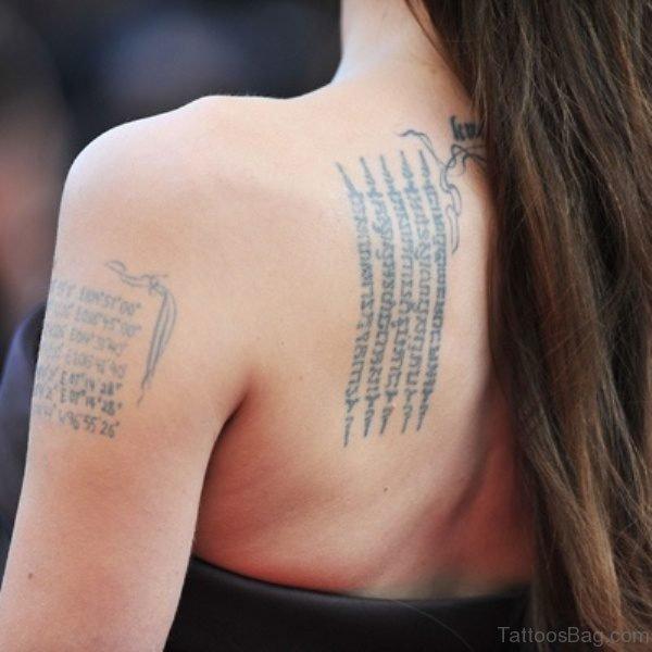 Nice Literacy Tattoo