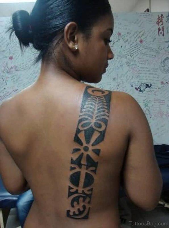 Nice Looking African Tribal Tattoo