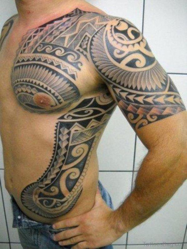 Nice Looking Aztec Tattoo