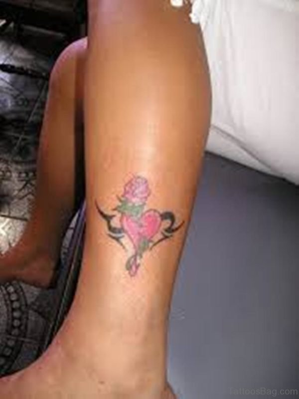 Nice Looking Heart Tattoo