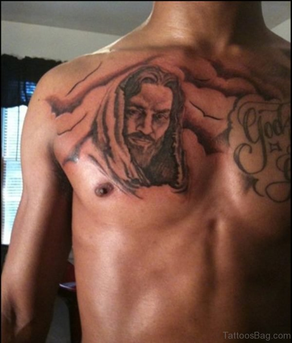 Nice Looking Jesus Tattoo