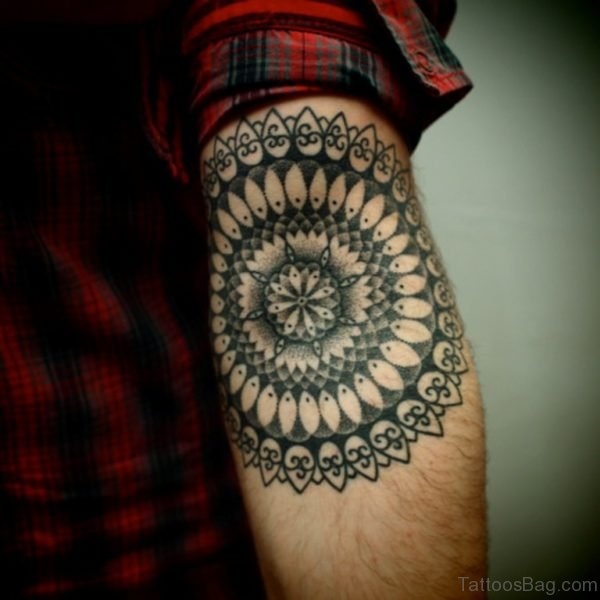 Nice Looking Mandala Tattoo