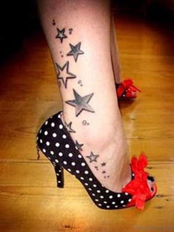 Nice Looking Stars Tattoo