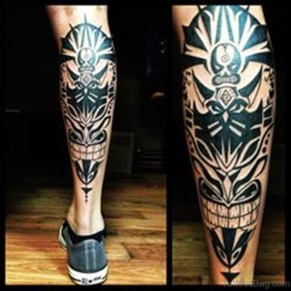 Nice Looking Tribal Tattoo