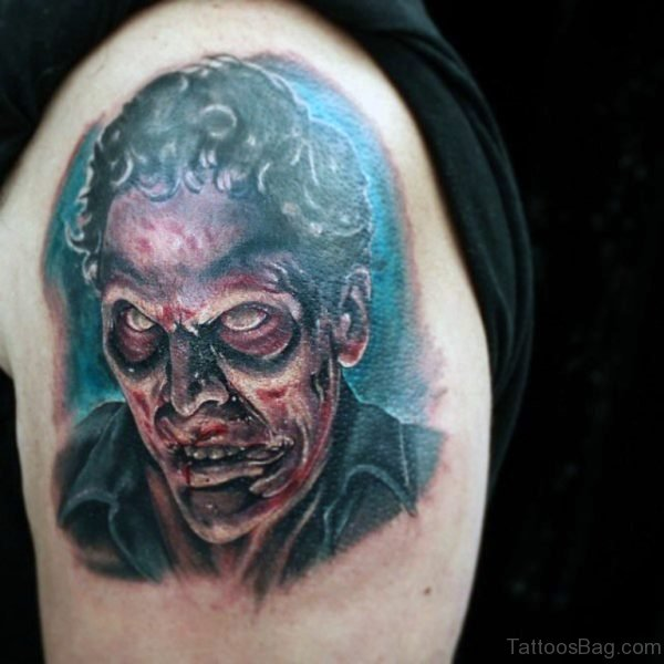 Nice Looking Zombie Tattoo