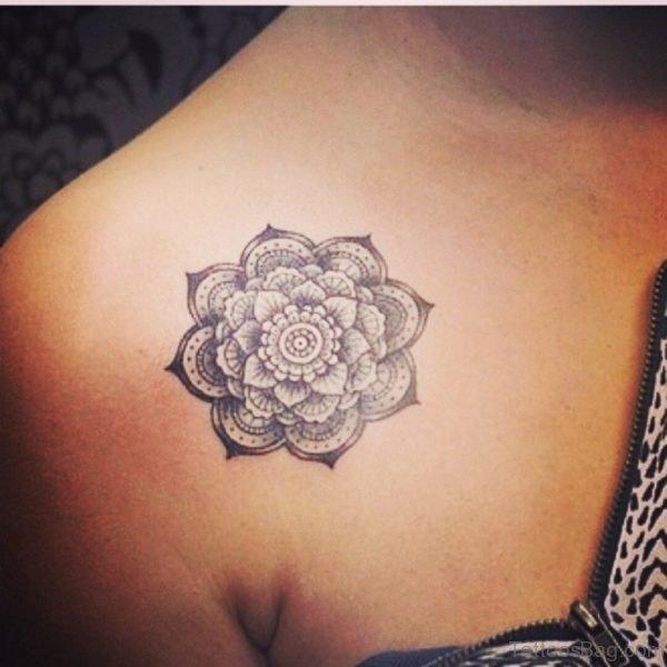 Nice Lotus Tattoo