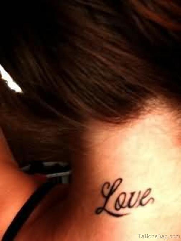 Nice Love Tattoo