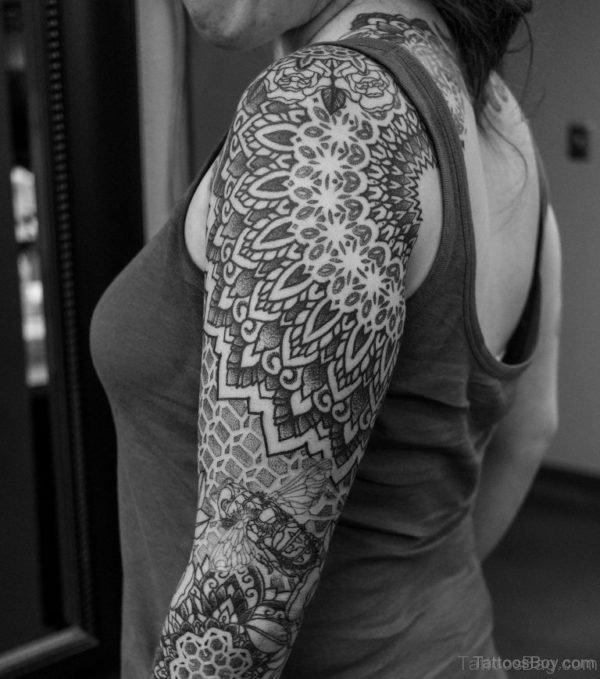 Nice Mandala Tattoo