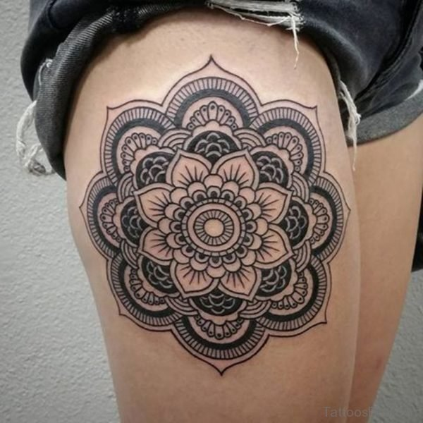 Nice  Mandala Tattoo Design