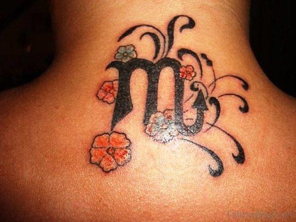 Nice Neck Tattoo Name